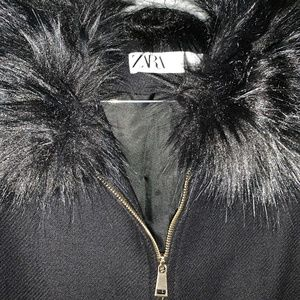 ZARA black winter coat
